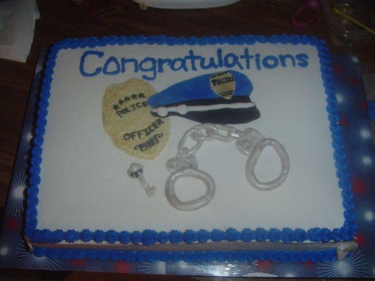 Police Graduation Cakes cakepins.com | Police appreciation ...