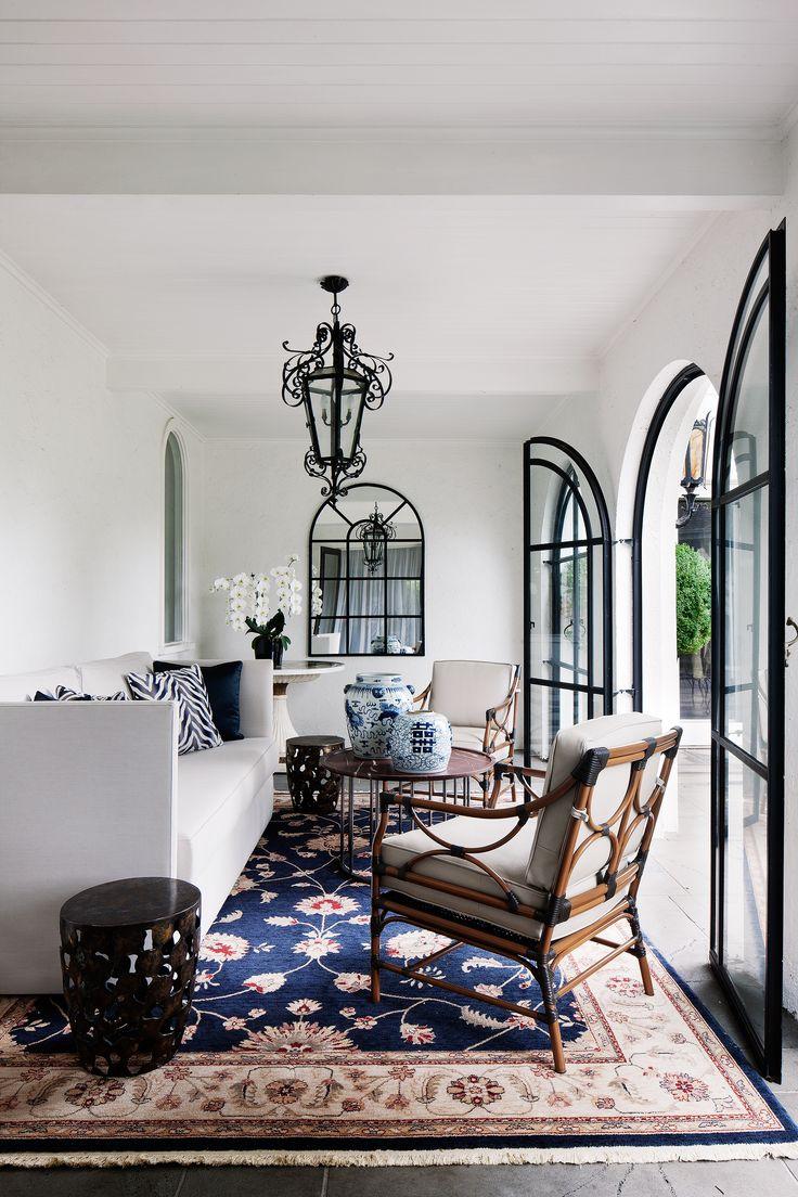 Melbourne mansion re-fit by interior designer David Hicks. Photography: Shannon McGrath   Story: Belle