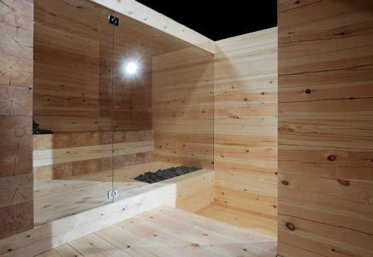 Via @Architonic, a solid wood sauna by Avanto Architects winner of this year's Habitare Sauna design competition for young architects and designers.