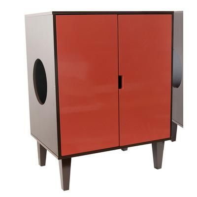 Free Shipping - The DECO Hidden Cat Litter Box furniture has surpassed the traditional concept of cat furniture by offering items that can better be described..