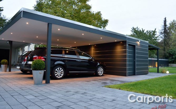 Carport Mit Abstellraum Kombinieren Und Geld Sparen Carports Mit Pfiff In 2020 Carport Mit Abstellraum Carport Bauen Carport
