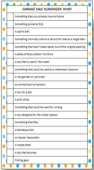 Loads of fun free printable games for kids - great activities to keep your kids entertained over summer! #ScavengerHunt #KidsActivities