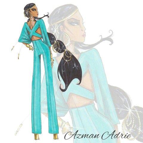 Disney Princess, Jasmine, by Azman Adrie. #official_azmanadrie #Instagram