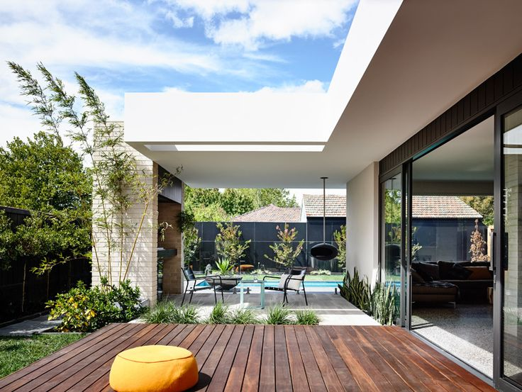 A Home With A Quad Front That Takes Advantage Of Park Views