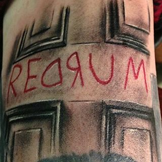 The Shining | 50 Horror Movie Tattoos That Will Give You Nightmares (Slightly NSFW)