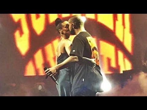 Rihanna And Drake Share A Kiss Onstage During Miami Concert - http://oceanup.com/2016/09/01/rihanna-and-drake-share-a-kiss-onstage-during-miami-concert/