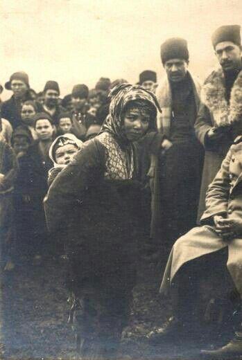 İstiklal Savaşı yıllarında Anadolu insanları..