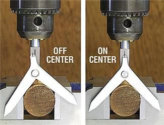 Center Finder for Round Stock