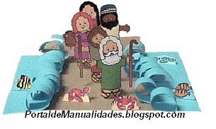 manualidades para niños cristianos con material reciclable - Buscar con Google