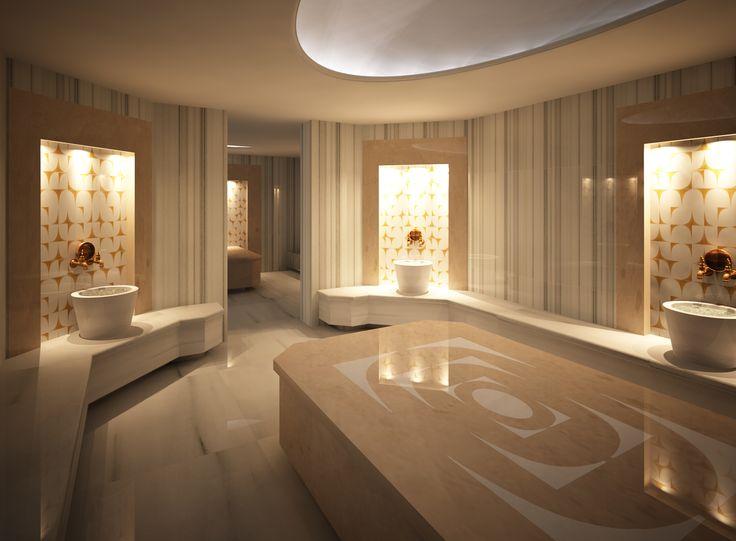 Modern turkish hamam sauna dekor spa solutions for Dekor turkey