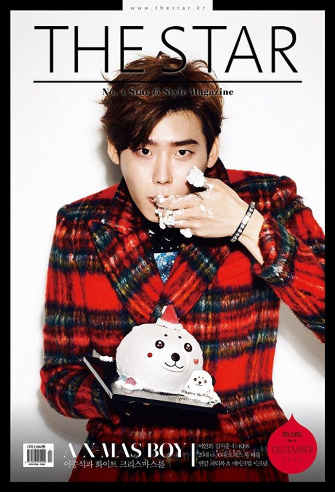 Lee Jong Suk - The Star Magazine December Issue '13