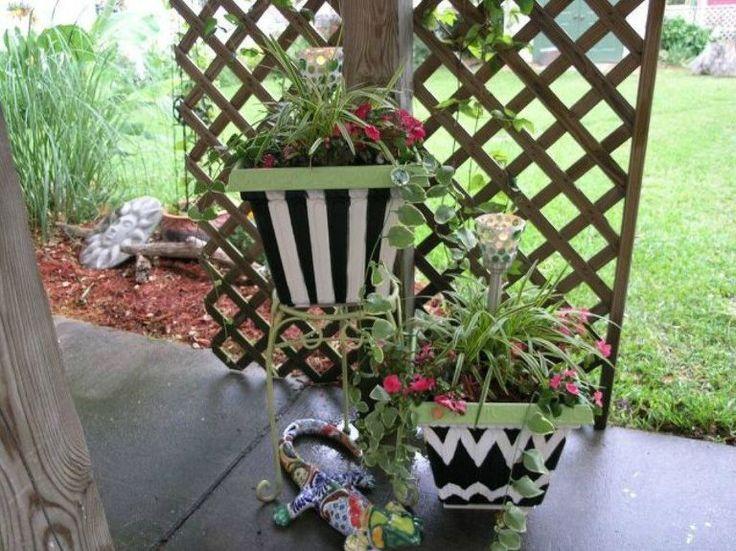 Best 25+ Cheap Planters Ideas On Pinterest | Outdoor Flower Planters,  Decorative Planters And Garden Pots Ideas Diy