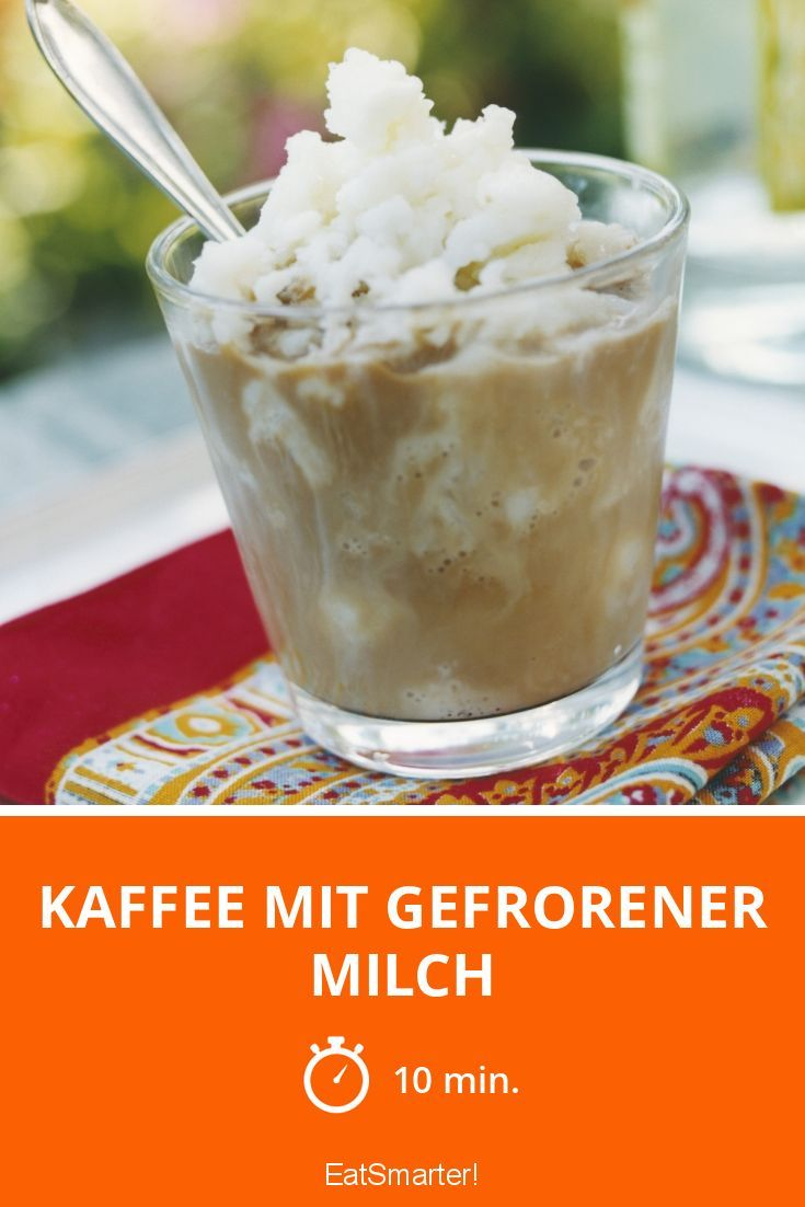 Kaffee mit gefrorener Milch - smarter - Zeit: 10 Min.   eatsmarter.de