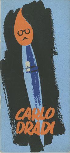Studio d'arte grafica e pubblicitaria Carlo Dradi, rassegna dei lavori più rilevanti e di alcune recensioni sul lavoro di Dradi. Progetto grafico di Carlo (1908 - 1982) e Massimo Dradi.