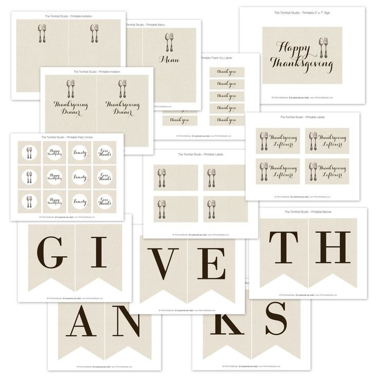 Give Thanks Collection JPEGS