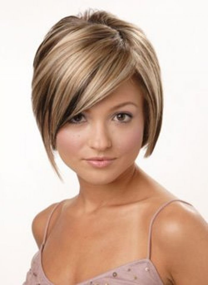Short Brown Hair Blonde Highlights Hairs Picture Gallery