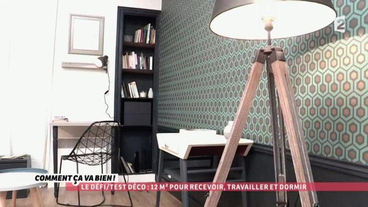 d co optimiser un petit studio ccvb id es am nagement petit logement pinterest petits. Black Bedroom Furniture Sets. Home Design Ideas