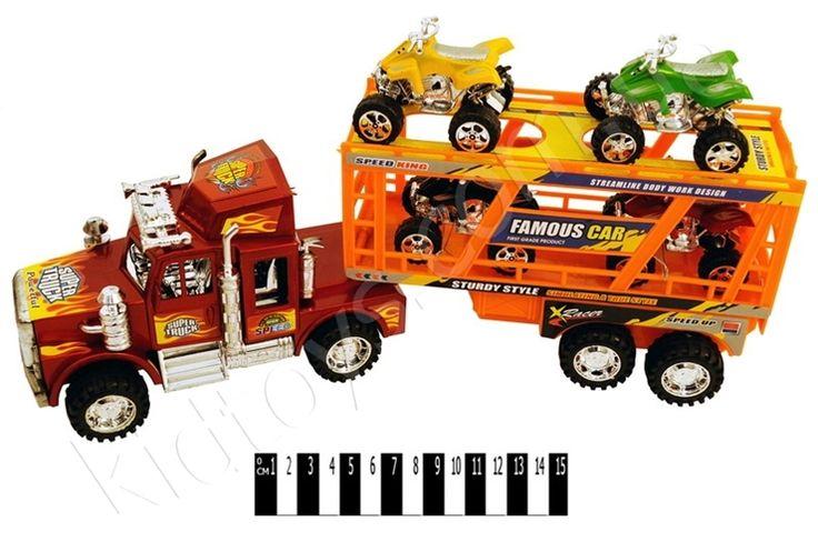 Трейлеровоз (ковпак) 1217А, интернет магазины детские, мягкие развивающие игрушки, интернет магазин обуви украина, игрушки бен 10, детские коляски для девочек, музыкальные детские игрушки