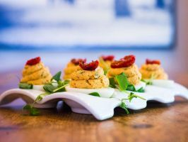 """The Rusty Spoon : <p>Arguably one of Orlando's staunchest farm-to-table advocates, Chef Kathleen Blake opened <a adhocenable=""""false"""" href=""""/content/food/restaurants/fl/orlando/t/the-rusty-spoon-restaurant.html"""">The Rusty Spoon</a> on Church Street in 2011, before the renaissance of downtown dining. Though humble, Blake deserves a lot of credit for forging the path that now connects dozens of local restaurants to farmers and butchers in Central Florida. A three-time James Beard Foundation…"""