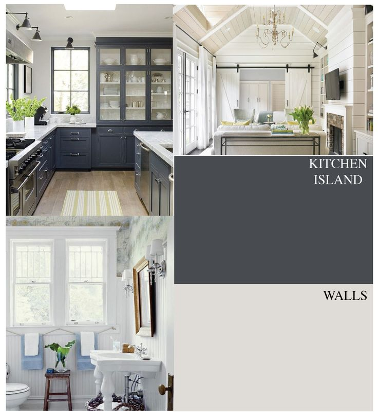 Kitchen Cabinet Skins: Paint Colors And Inspiration Picks. Island Will Be Kwal