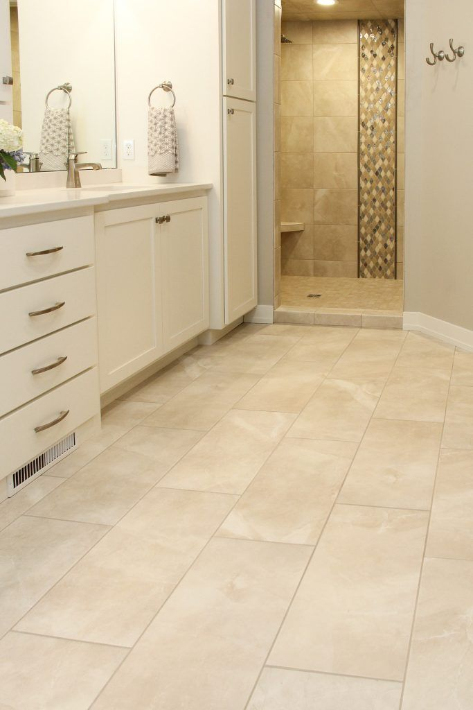 Ivory Tile Flooring Bathrooms Remodel Shower Remodel Tile Floor