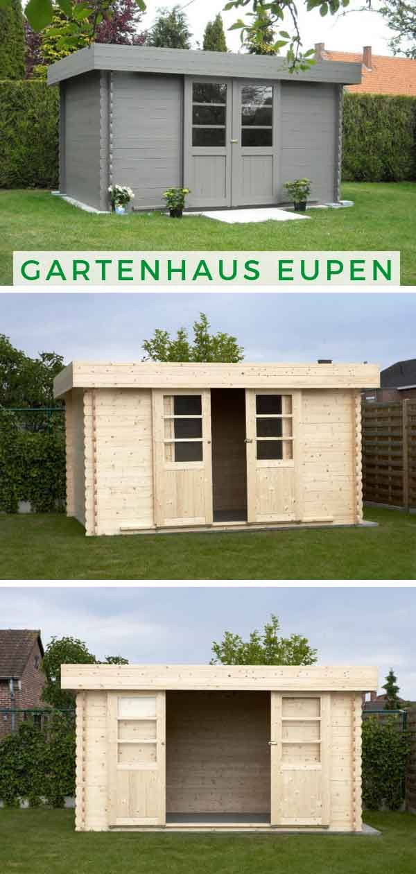 Gartenhaus Eupen 28 Gartenhaus Bauen Gartenhaus Gartenhaus Pultdach