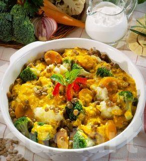 Receptek Lajos Mari konyhájából - Currys-zöldséges lencse