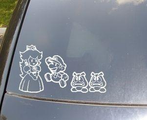Cute family car decal!!!