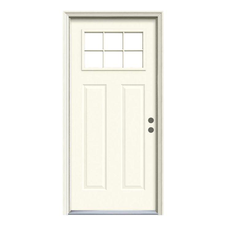 Jeld Wen Premium Steel Doors Offer That Relied Upon Strength Steel Doors Tall Cabinet Storage Home Renovation