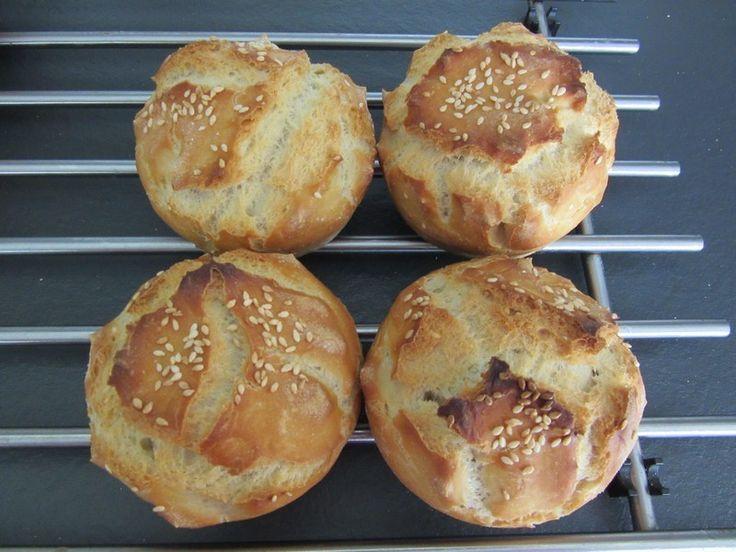 Mini pains cocotte aux graines de sésame au companion