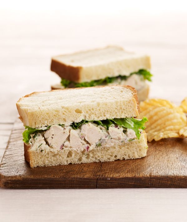 Chobani Yogurt -Chicken Salad Sandwich - Chobani Yogurt