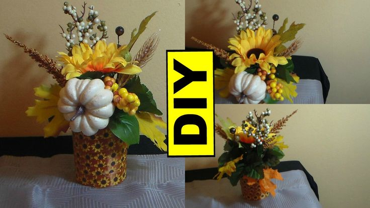 Here is a simple fall DIY that you can make out of a recycled candle jar here is the link to the video: https://youtu.be/1d4oeE1zIo0