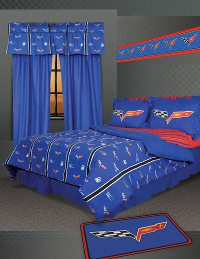 13 best Boy Bedroom Ideas images on Pinterest | Corvettes, 3/4 ...