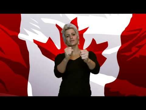 ▶ O Canada with Sign Language - YouTube