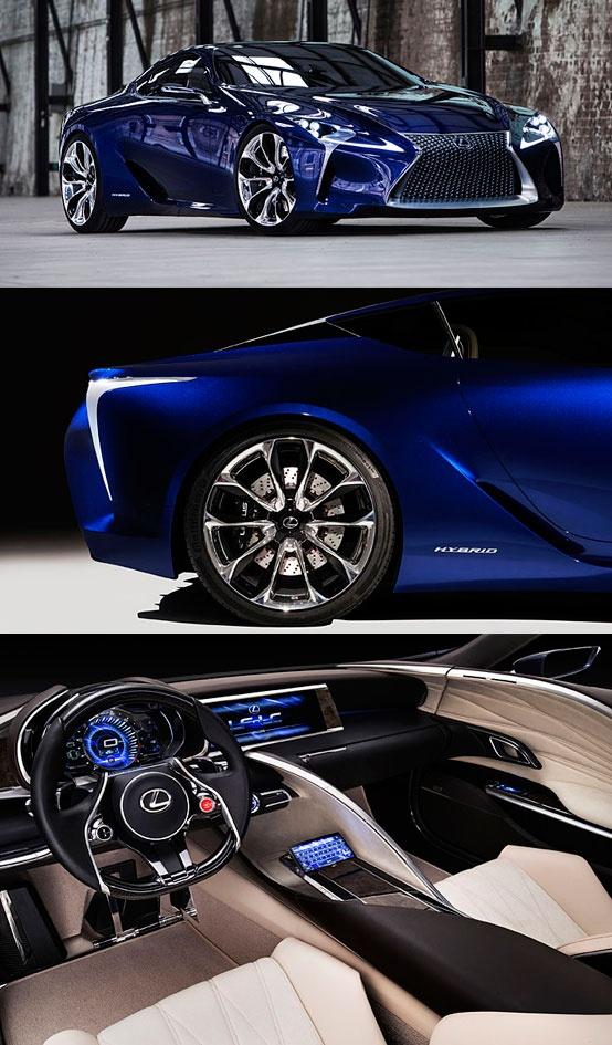 Lexus LF-LC Blue concept http://www.mcgrathlexusofchicago.com/