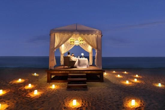 Candlelight Dinner By The Beach Learn To Have More Great