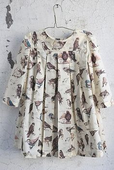 ...birds girls dress