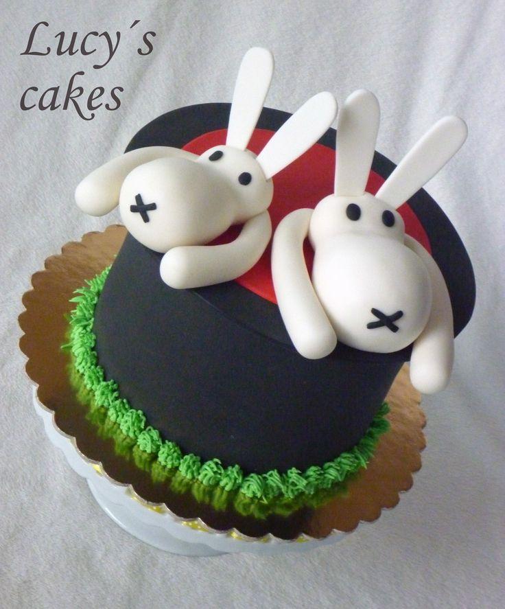 Czech animated characters cake