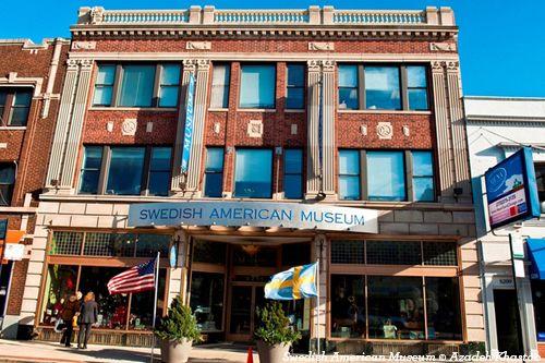 Swedish American Museum. Pinned by #CarltonInnMidway - www.carltoninnmidway.com