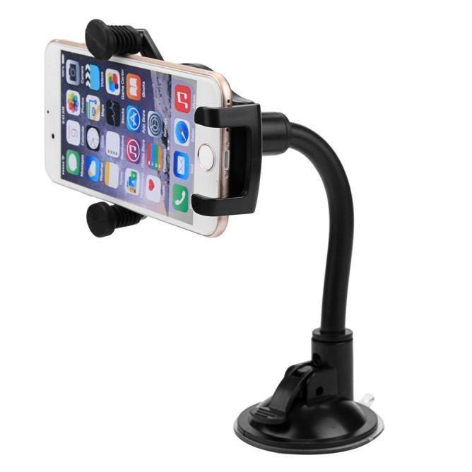 360 Degree Rotating Car Phone Cradle Mobile Holder Universal Mount Multi Angle #UnbrandedGeneric