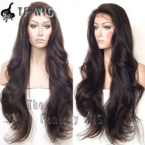 Fabulous Attractive Long Wavy Front Lace Human Hair Wigs Bleached Knots Free Shipping Fabulous Attractive Long Wavy Front Lace Human Hair Wigs Bleached Knots Free Shipping [LFW1] - $138.99 : The Fantasy WIG.COM