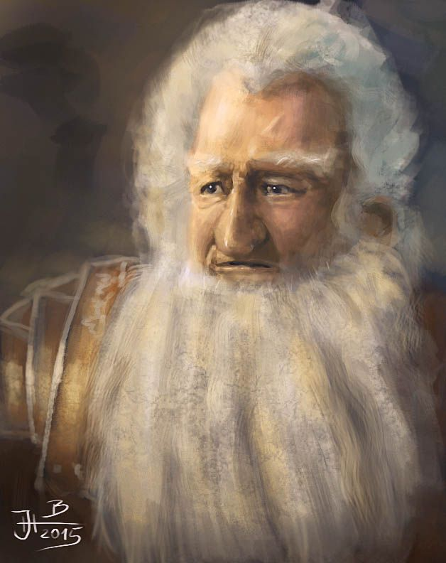 Digital portrait of Balin