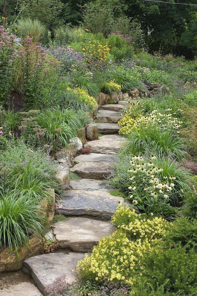Shanti Garden, Butterfly Garden by WestoverLandscapeDesign on Flickr..