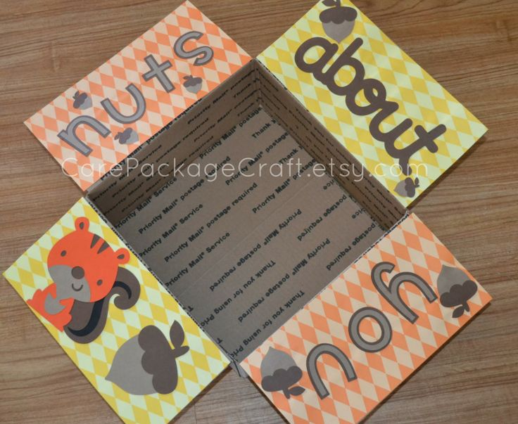 Nuts About You Care Packages on Etsy #carepackage #deployment #milso