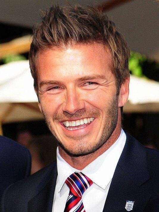 Great haircuts for men- David Beckham Hairstyle 2012 - 2013