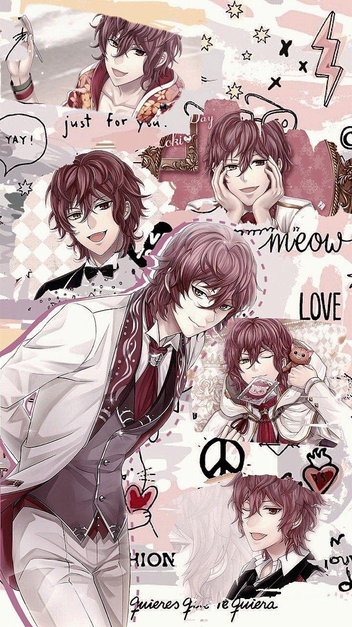 Lockscreen Loki Genetta Ikemenrevolution イケレボ Anime Wallpaper Aesthetic Anime Anime Boy