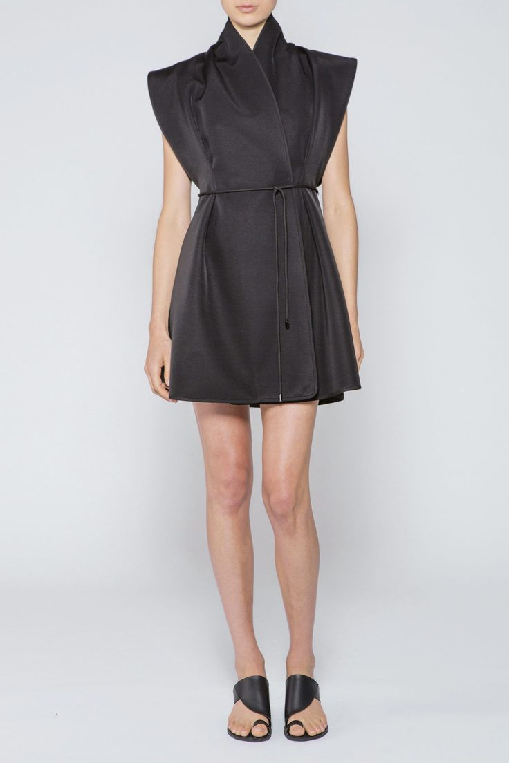 Acler - Birch Dress Black