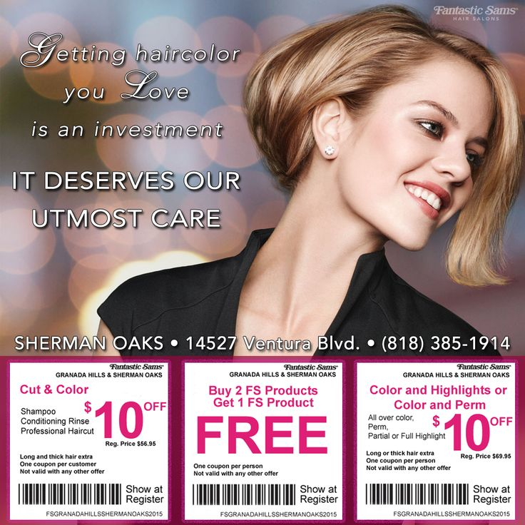 12 best Fantastic Sams Coupons images on Pinterest | Coupons ...