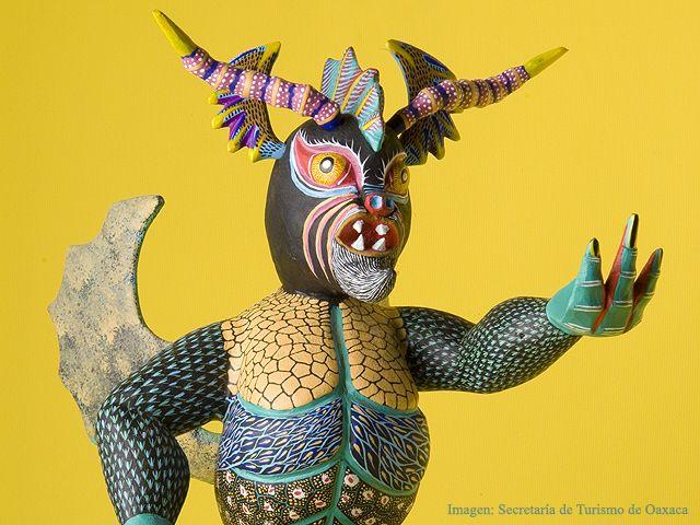 Alebrije de un Dragón, artesanía del Estado de Oaxaca
