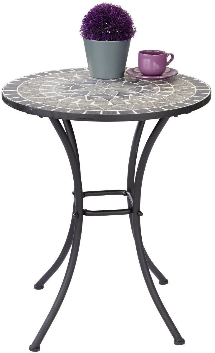 Tisch Mosaik Grau O Ca 60cm Online Bei Poco Kaufen Grauer Tisch Tisch Aussenmobel